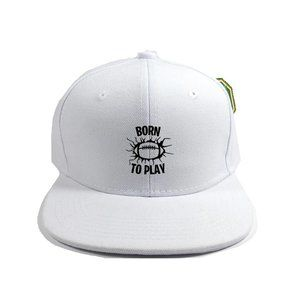 Born To Play Hat Cap One Size Adjustable Snapback